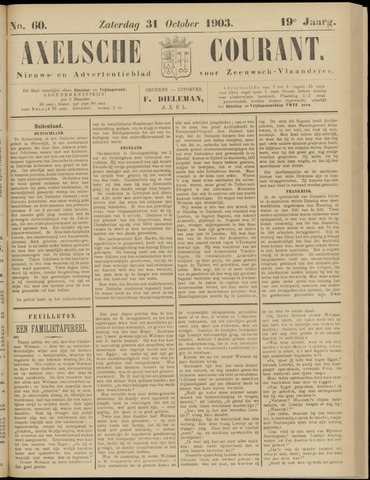 Axelsche Courant 1903-10-31
