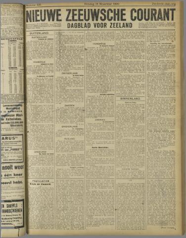 Nieuwe Zeeuwsche Courant 1920-11-16