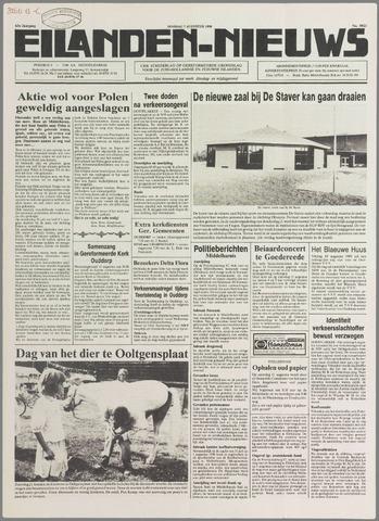 Eilanden-nieuws. Christelijk streekblad op gereformeerde grondslag 1990-08-07
