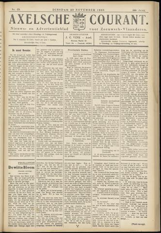 Axelsche Courant 1938-11-29