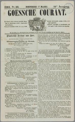Goessche Courant 1864-03-17