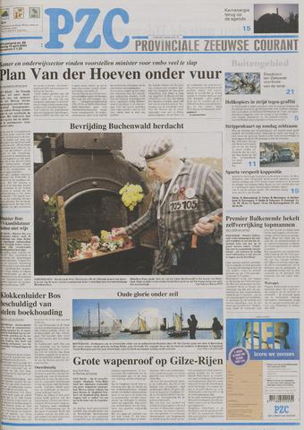 Provinciale Zeeuwse Courant 2005-04-12