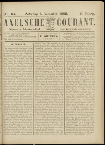 Axelsche Courant 1886-11-06