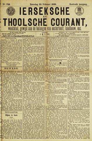 Ierseksche en Thoolsche Courant 1899