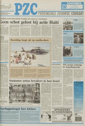 Provinciale Zeeuwse Courant 1994-09-20