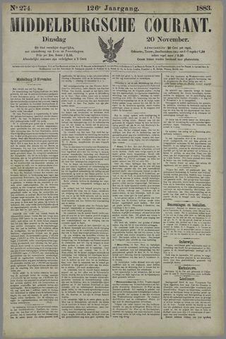 Middelburgsche Courant 1883-11-20