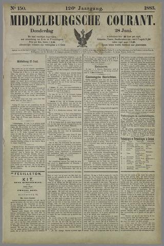 Middelburgsche Courant 1883-06-28