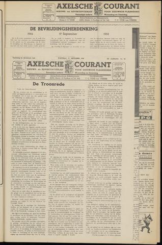 Axelsche Courant 1952-09-17