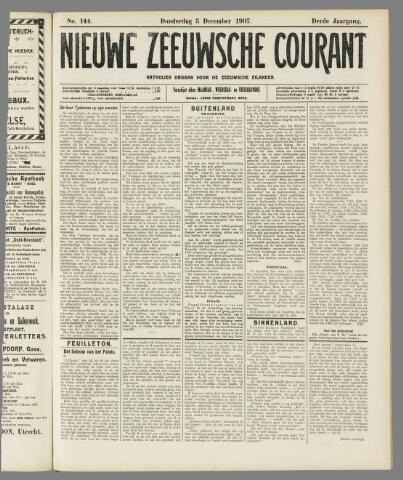 Nieuwe Zeeuwsche Courant 1907-12-05