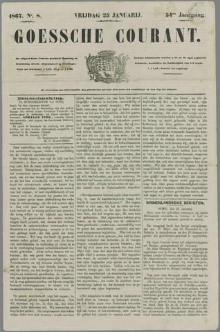 Goessche Courant 1867-01-25
