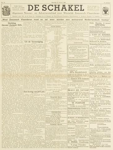 De Schakel 1946-01-21