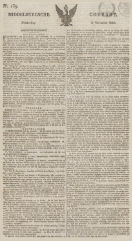 Middelburgsche Courant 1829-11-19
