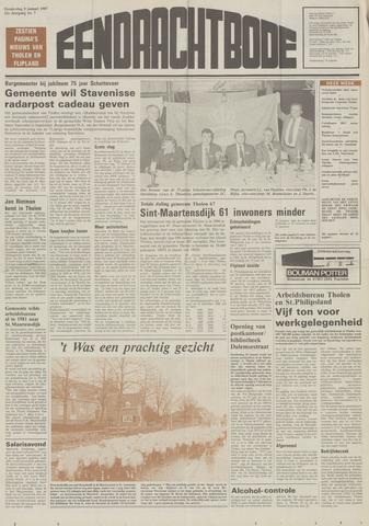 Eendrachtbode (1945-heden)/Mededeelingenblad voor het eiland Tholen (1944/45) 1987