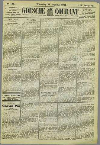 Goessche Courant 1927-08-31