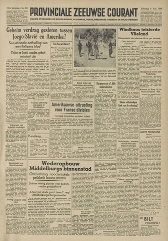 Provinciale Zeeuwse Courant 1948-11-06