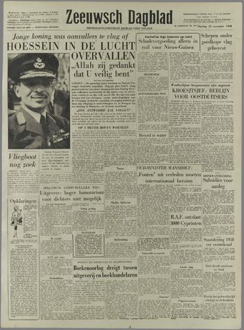Zeeuwsch Dagblad 1958-11-11