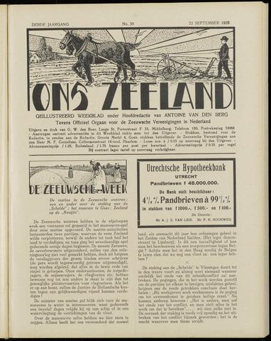 Ons Zeeland / Zeeuwsche editie 1928-09-22