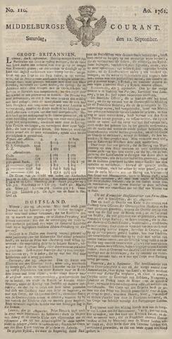 Middelburgsche Courant 1761-09-12