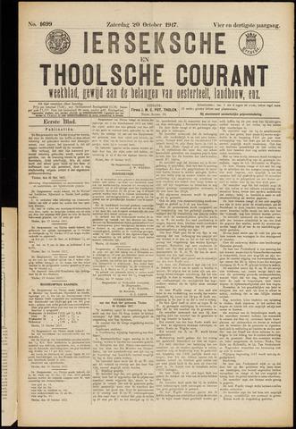 Ierseksche en Thoolsche Courant 1917-10-20