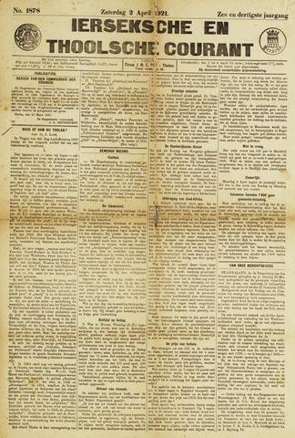 Ierseksche en Thoolsche Courant 1921-04-02