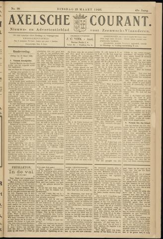 Axelsche Courant 1926-03-23