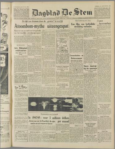 de Stem 1949-09-27