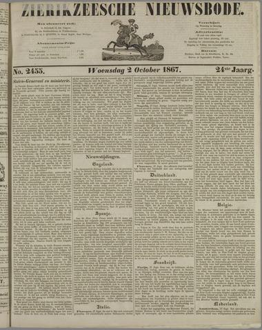 Zierikzeesche Nieuwsbode 1867-10-02