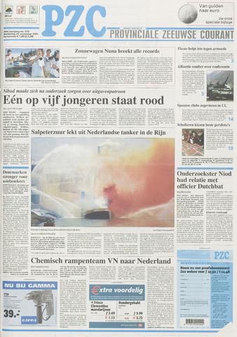 Provinciale Zeeuwse Courant 2001-11-22