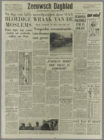Zeeuwsch Dagblad 1962-04-18