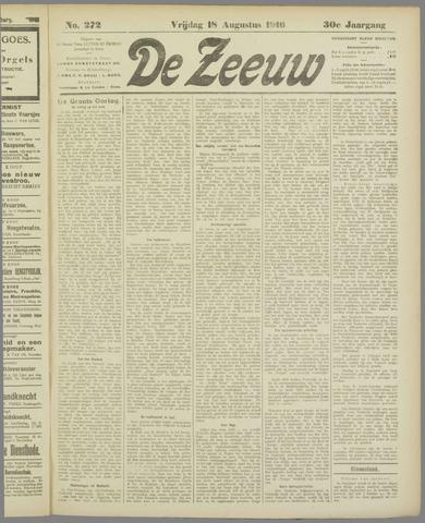 De Zeeuw. Christelijk-historisch nieuwsblad voor Zeeland 1916-08-18