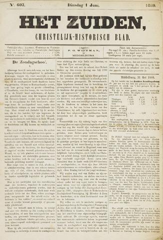 Het Zuiden, Christelijk-historisch blad 1880-06-01
