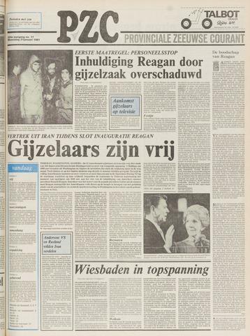 Provinciale Zeeuwse Courant 1981-01-21