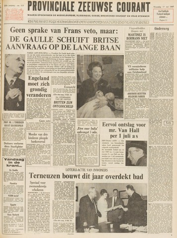 Provinciale Zeeuwse Courant 1967-05-17