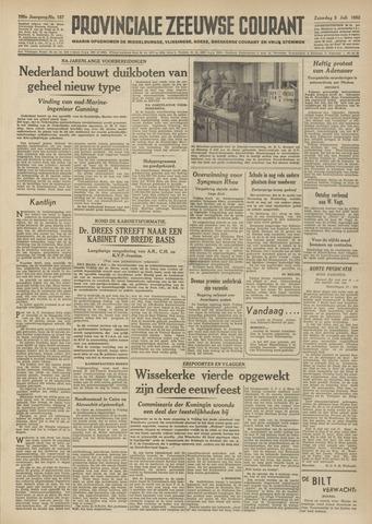 Provinciale Zeeuwse Courant 1952-07-05