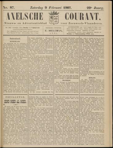 Axelsche Courant 1907-02-09