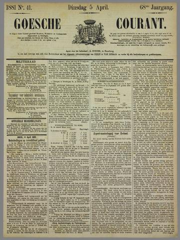 Goessche Courant 1881-04-05