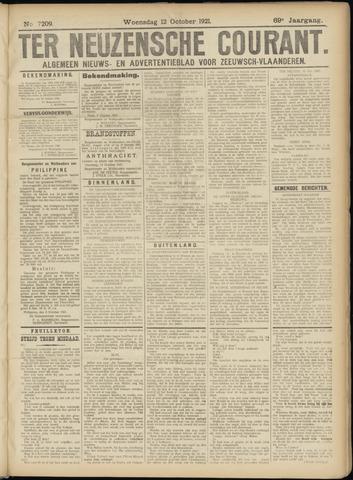 Ter Neuzensche Courant. Algemeen Nieuws- en Advertentieblad voor Zeeuwsch-Vlaanderen / Neuzensche Courant ... (idem) / (Algemeen) nieuws en advertentieblad voor Zeeuwsch-Vlaanderen 1921-10-12
