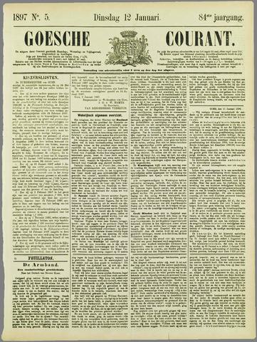 Goessche Courant 1897-01-12
