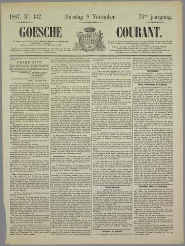 Goessche Courant 1887-11-08