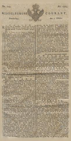 Middelburgsche Courant 1775-10-05