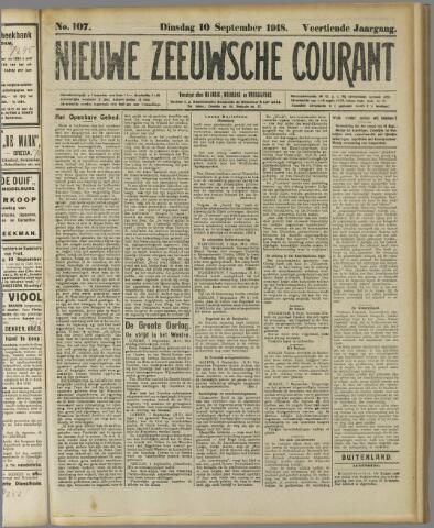 Nieuwe Zeeuwsche Courant 1918-09-10
