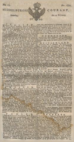 Middelburgsche Courant 1775-02-04