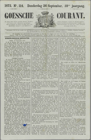 Goessche Courant 1872-09-26