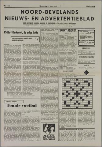 Noord-Bevelands Nieuws- en advertentieblad 1985-03-21