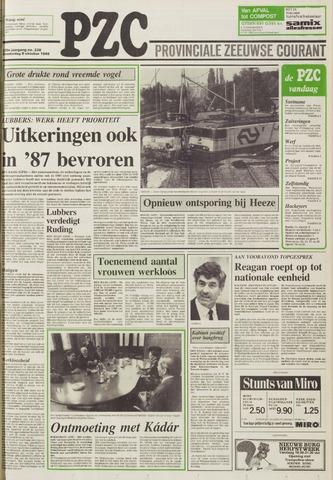 Provinciale Zeeuwse Courant 1986-10-09