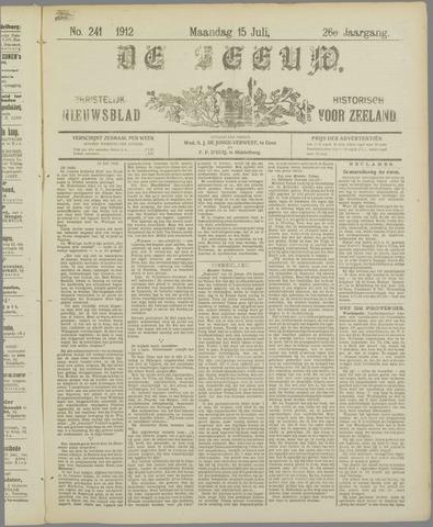 De Zeeuw. Christelijk-historisch nieuwsblad voor Zeeland 1912-07-15