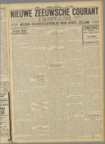 Nieuwe Zeeuwsche Courant 1932-01-09