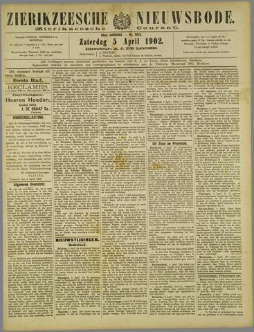 Zierikzeesche Nieuwsbode 1902-04-05
