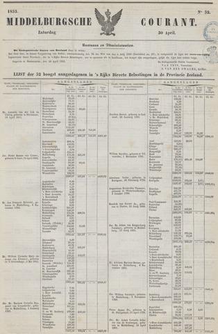 Middelburgsche Courant 1853-04-30