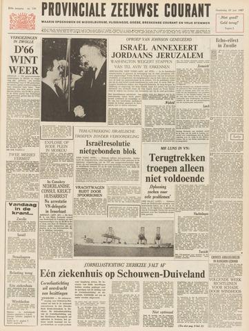 Provinciale Zeeuwse Courant 1967-06-29